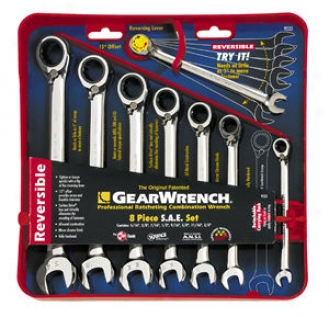 8-piece Fractional Reversible? Gearwrench Set
