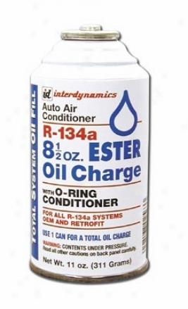 8.5 Oz. R-134a Ester Oil Charge