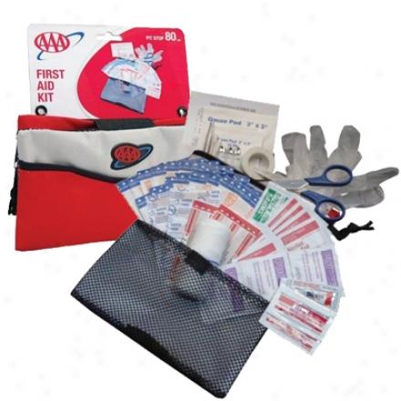 Aaa 80 Piece Pit Stop Emergency Kit