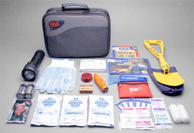 Aaa Severe Weather Travel Kit