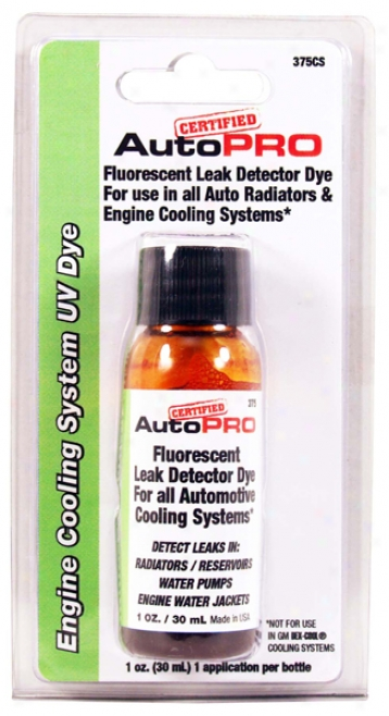 A/c Pro Radiator And Cooling Order Uv Dye (1 Oz.)