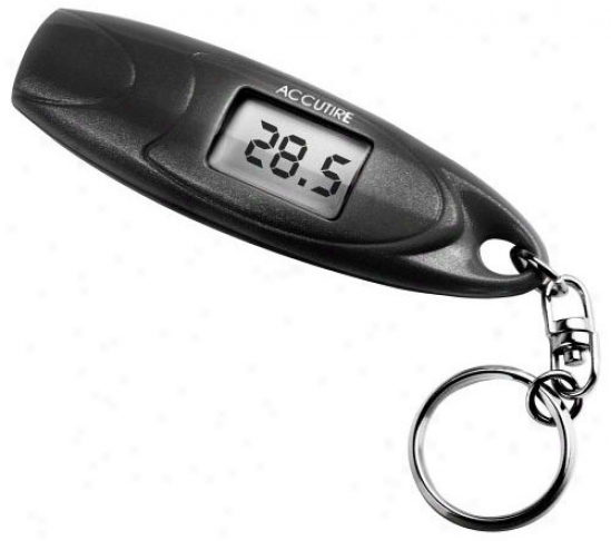 Accutire Digital Key Chain Tire Gauge