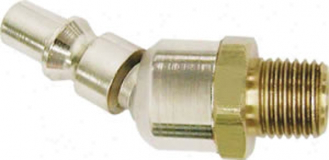 Acme Automotive Ball Swivel Air Hose Plug -1/4'' X 3/8'' Male Threads