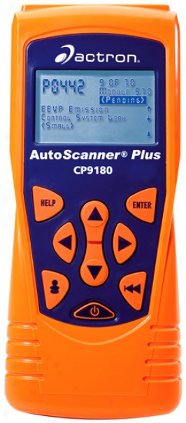 Actron Cp9180 Autoscanner Plus Obd Ii Reader And Scanner