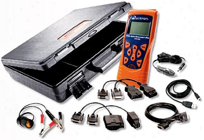 Actron Cp9190 Elite Autoscanner Pro Obd I & Ii Scanner Kit