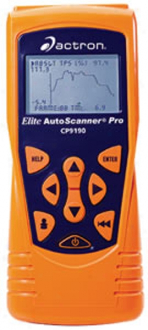 Actron Elite Autoscanner? Pro With Ond-i And Obd-ii