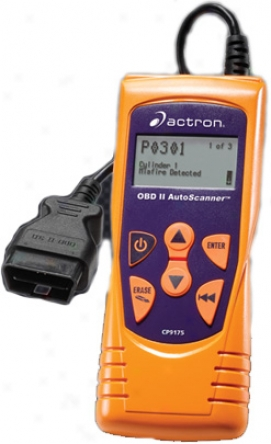 Actron Obd-ii Trilingual Auto Scanner - Cp9175