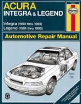 Acura Integra/legend (1990-95) Haynes Manual