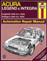 Acura Integra/legenx Haynes Repair Manual (1986 - 1990)