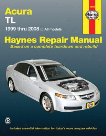 Acura Tl Haynes Repair Of the hand (1999-2008)