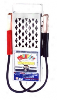 Analog Battery Tester With 120 Amp Encumbrance Capacity
