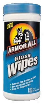 Armor All Glass Wipes (25 Ct.)