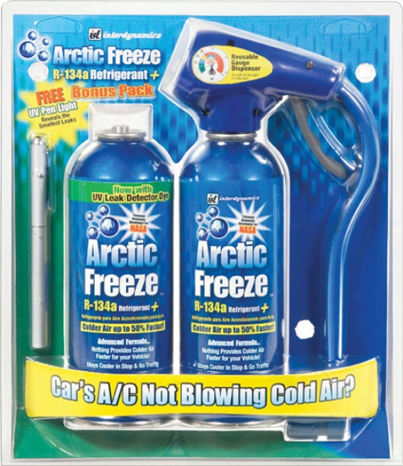 Artic Freese Recharge Kit With Uv Dye And Pen Light