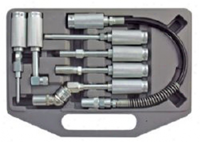 Astro Pneumatic Grease Fitting Adapter Set