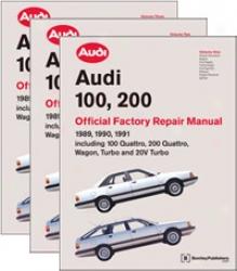 Audi 100, 200: 1989-1091 Repair Manual