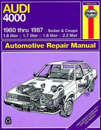 Audi 4000 (sedan & Coupe) Haynes Repair Manual (19081987)