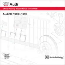 Audi 90 Repair Manual On Cd-rom (1993-1995)