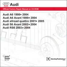 Audi A6/s6/rs6 Repair Manual On Cd-rom (1998-2005)