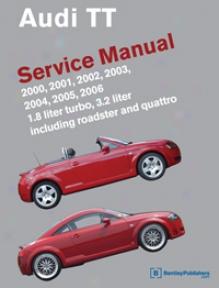 Audi Tt: 2000-2006 Service Manual