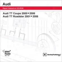 Audi Tt Coupe & Roadster Repair Manual On Cd-rom (2000-2006)