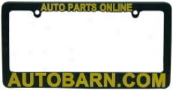Auto Barn License Plate Frame