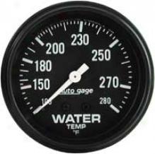 Auto Meter Autogage 2-5/8'' Mechanical Water Temperature Gauge