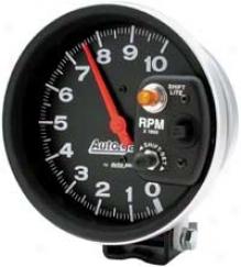 Auto Meter Autogage 5'' Pedestal Mount Tachometer Shift-lite