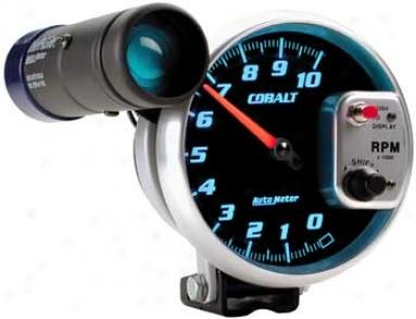 Auto Meter Cobalt Shift-lite 5'' 10,000 Rpm Tachometer
