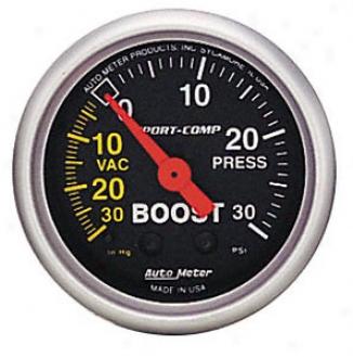 Auto Meter Mini 2 1/16'' Sport-comp Boost/vac