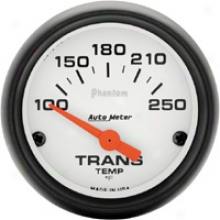 Auto Meter Phantom 2-1/16'' Electric Trans. Temp. Gauge