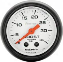 Auto Meter Phantom 2-1/16'' Mschanical Boost Gauge
