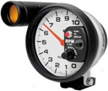 Auto Meter Phantom 5'' Monater Shift-lite Pedestal Mount Tachometer