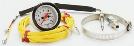 Auto Meter Phantom Full Sweep Electric Gauge Pyrometer Kit 2 1/16 Inch
