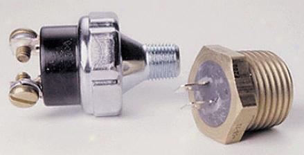 Auto Meter Pro-lite Warning Light Pressure Sender 15 Psi.
