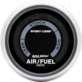 Auto Meter Sport-comp 2-1/16'' Air/fuel Ratio Full Carry off Electric Measure