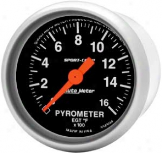 Auto Meter Sport-comp 2-1/16'' Pyrometer Kit - Probe & 8 Ft. Wire