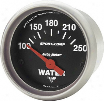 Auto Meter Sport-comp Waetr Temperature Electric Gauges