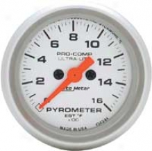 Auto Meter Ultra-lite 2-1/16'' Full Destruction Electric Air/fuel Ratio Gauge