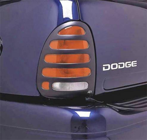 Auto Ventshade Slots - Horizontal Slot Taillight Covers