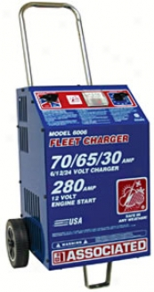 Battery Charger 6//12/24 Volt - 75 Amp, 455 Amp Boost