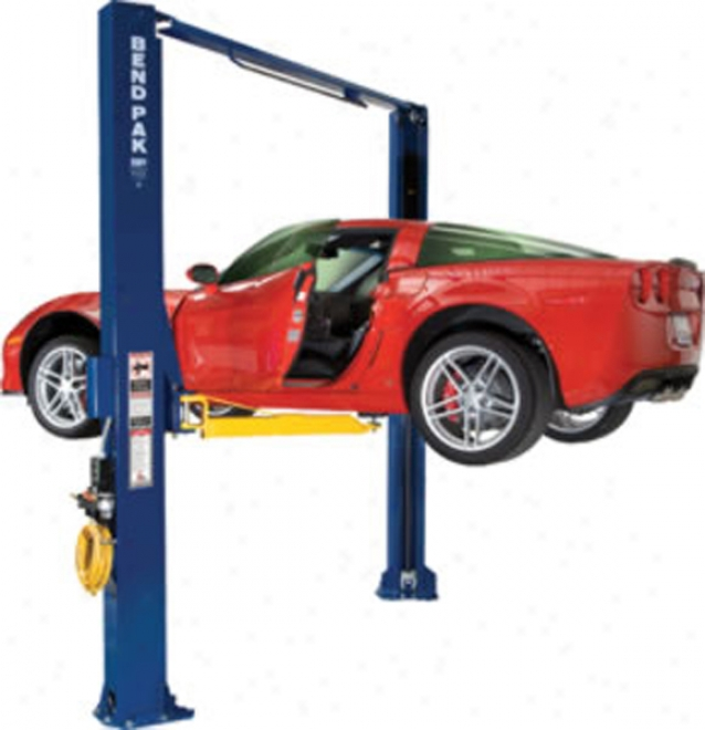 Bendpak 10,000 Lb. Asymmetric Clearfloor Two-post Lifts 145'' Wide