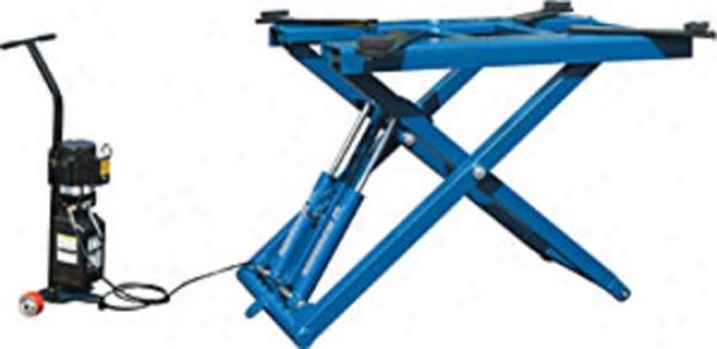 Bendpak Portable Mid-rise Scissors Lift-6k Ability