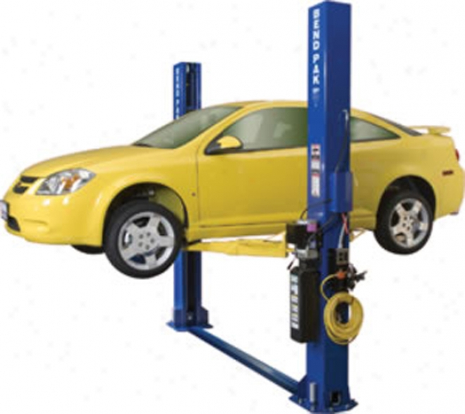 Bendpak Two Post Lifts-9,000 Lbs.-narrow Floor-plate - 132'' /3353mm.