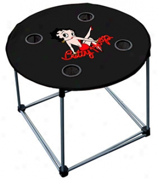 Betty Boop Folding Nylon Table The Your Auto