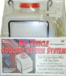 Big Vehicle Coolant Return System