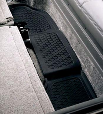 Black Armor Custom Molded Floor Guards For Third Seat