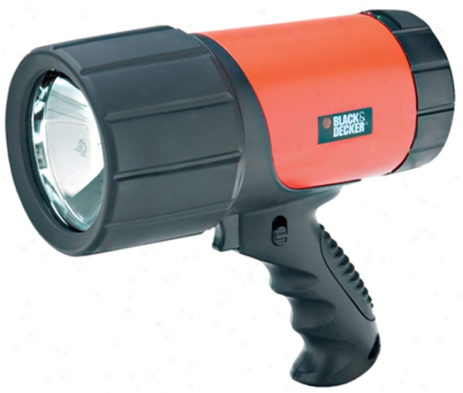 Black & Decker 1 Million Candle Power Rechargeable Spotlight