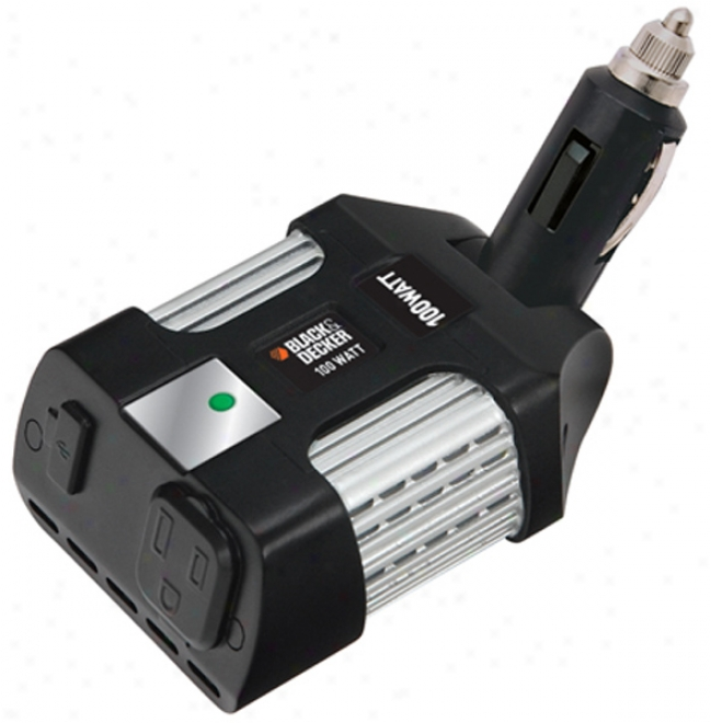 Black & Decker 100 Watt Power Inverter