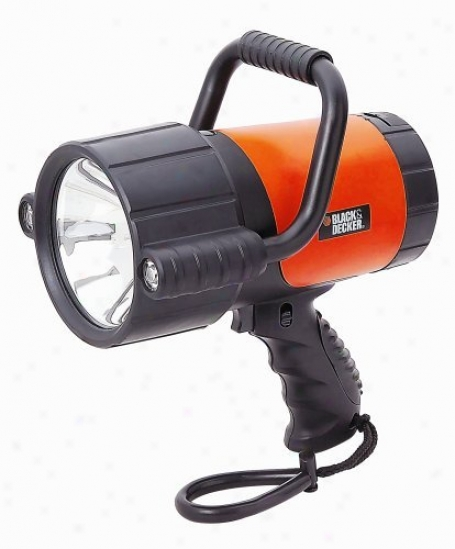 Black & Decker 2 Million Candle Power Rechargeable Spotlight