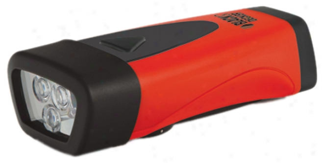 Black & Decker 3 Led Hand-crank Rechargeable Flashlight